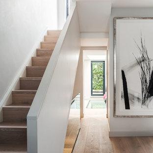 Modern Minimalist Staircase Ideas Photos Houzz