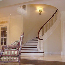 Traditional Staircase by Vision Exotik Flooring