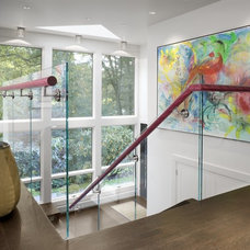 Modern Staircase by Ruhl Walker Architects
