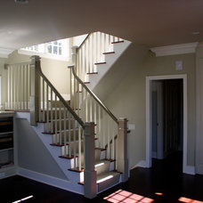 Traditional Staircase by Signature Home Remodeling, LLC