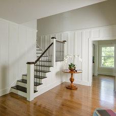 Farmhouse Staircase by Thiel Architecture + Design
