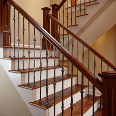 Craftsman Staircase by Zahn Builders Inc.