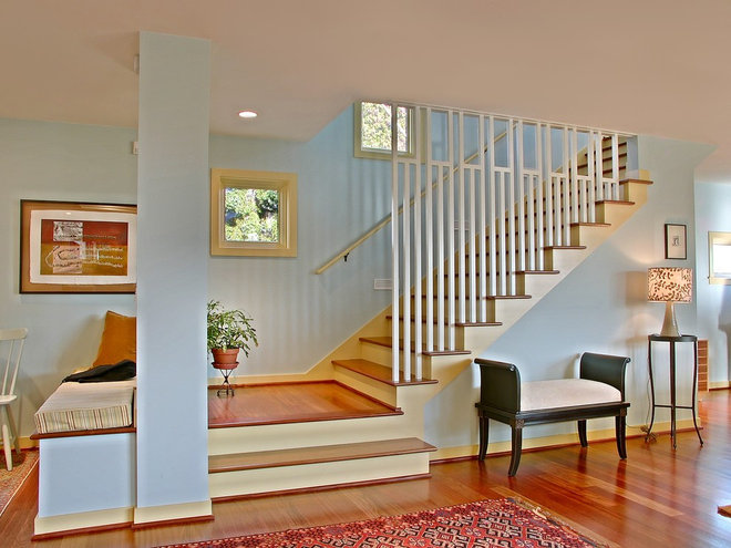 Contemporary Staircase by Neiman Taber Architects