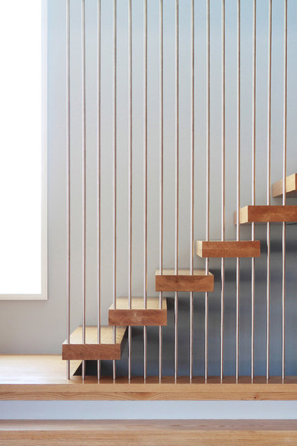 Modern Staircase by Saniee Architects llc