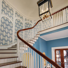 Traditional Staircase by W Design Interiors