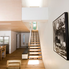 Contemporary Staircase by OKB Architecture