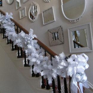 white christmas holiday decor