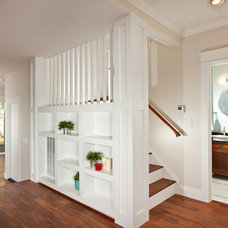 Craftsman Staircase by Stewart Thomas LLC