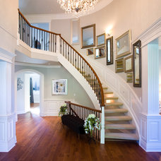 Traditional Staircase by Andrea Rodman Interiors