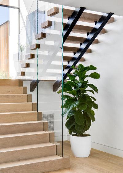 Ретро Лестница by Patterson Custom Homes