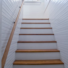 Traditional Staircase by Welsh Construction, Inc.