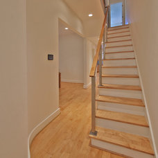 Modern Staircase by Kingston Design Remodeling