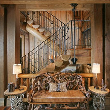 Traditional Staircase by Modern Rustic Homes