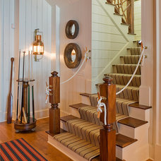 Traditional Staircase by William T Baker