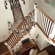 Beach Style Staircase by Geoff Chick & Associates