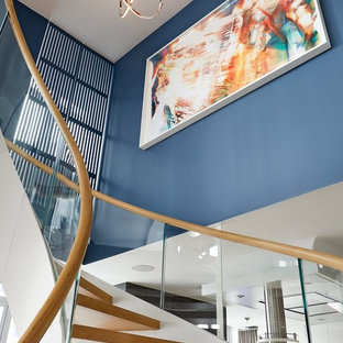 Williamsburg Custom Curved Staircase