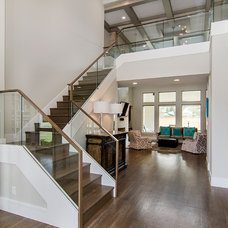Contemporary Staircase by John Lively & Associates