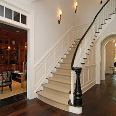 traditional staircase by suzanne pignato