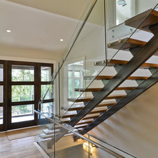 Contemporary Staircase by Iredale Group Architecture