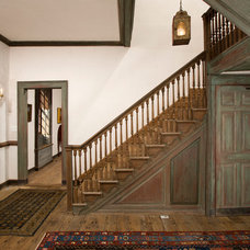 Traditional Staircase by Four Brothers LLC