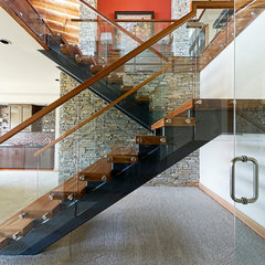 contemporary staircase by site lines architecture inc.
