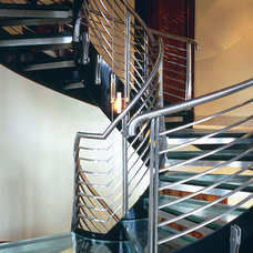 Contemporary Staircase by Graham Simmons Architect and Builder