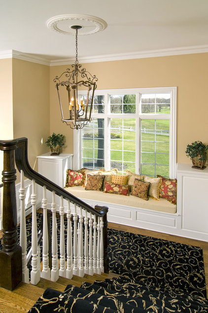 Traditional Staircase by Maureen Fiori, AKBD, Allied Member ASID, CAPS