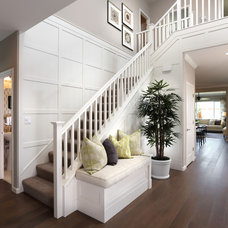 Beach Style Staircase by Brookfield Residential Northern California
