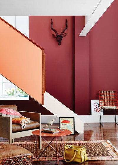 Modern Treppen by Dulux Paint