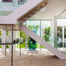 Contemporary Staircase by M. James Northen
