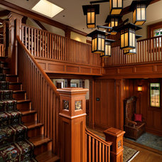 Craftsman Staircase by Mike Knight Construction