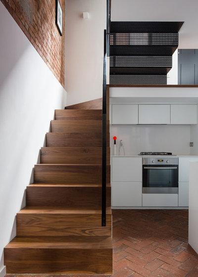 Industrial Staircase by Kirkwood McCarthy