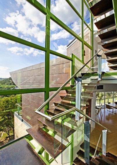 Industriel Escalier by Winn Wittman Architecture A.I.A.