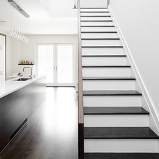 Modern Staircase by Altius Architecture, Inc.
