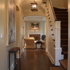 Traditional Staircase by Reynolds Architecture- Design & Construction