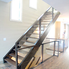 Modern Staircase by Artistic Stairs Inc.