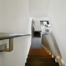 Contemporary Staircase by Studio ST Architects, P.C.