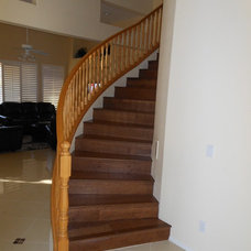 Modern Staircase by Experts In Construction & Home Improvements, LLC