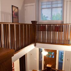 Craftsman Staircase by Habitat Studio
