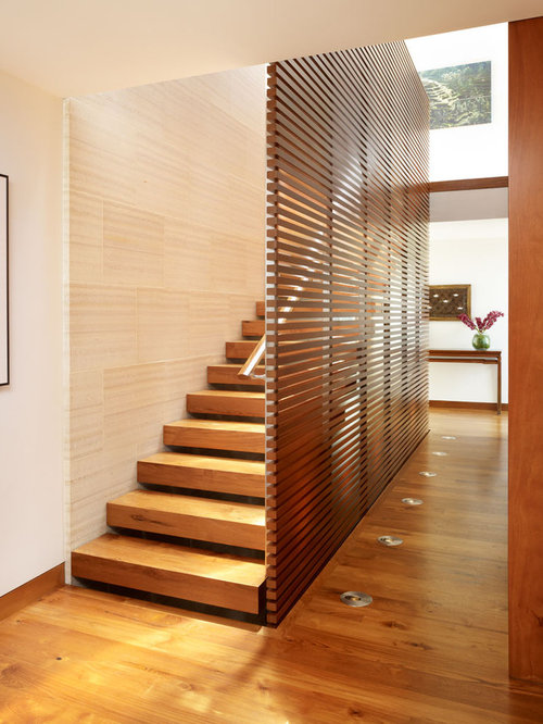 asian staircase design ideas remodels photos - Staircase Design Ideas