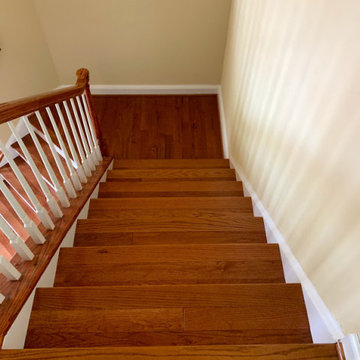 Wood Stairs After