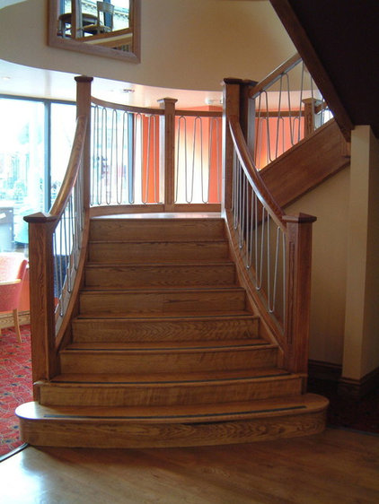 Traditional Staircase by Bradfabs Ltd