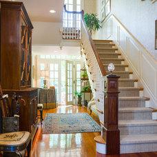 Traditional Staircase by Deborah Leamann