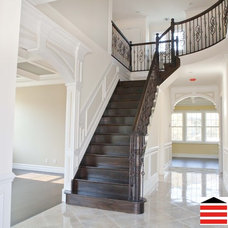 Traditional Staircase by The Construction Experts