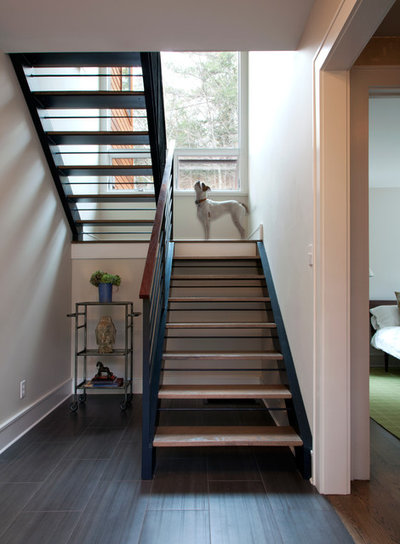 Contemporary Staircase by Architectural Collaborative