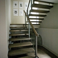 Contemporary Staircase by Gaile Guevara