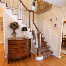 Traditional Staircase by Peykar Rugs & Carpet