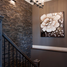 Traditional Staircase by Decorating Den Interiors - Dianne Wallis