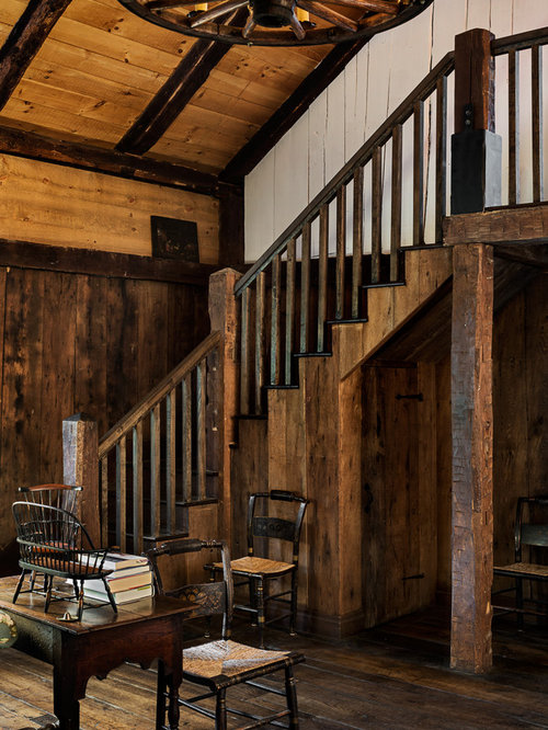 Farmhouse Stair Railing Rustic