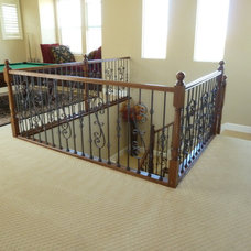 Traditional Staircase by All Things Interior